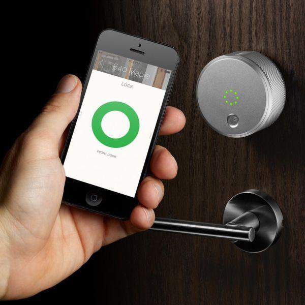 Khóa cửa thông minh mở bằng điện thoại có những tính năng gì?1