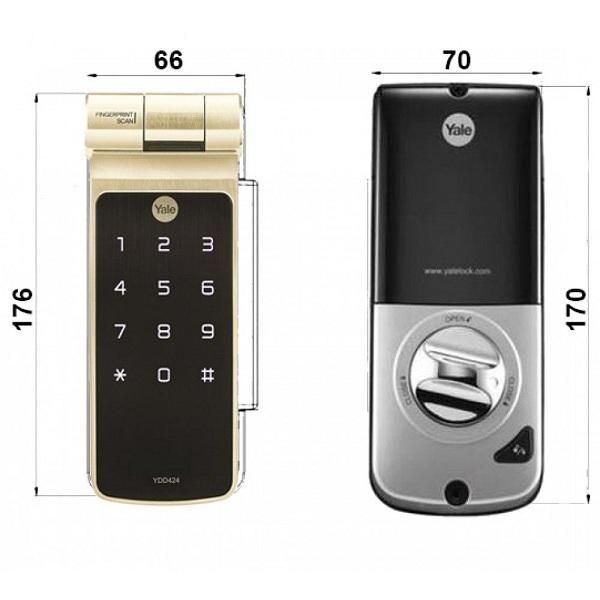 Top 5 ổ khóa cửa bằng mật mã giá tầm 10 triệu tốt nhất hiện nay (4)