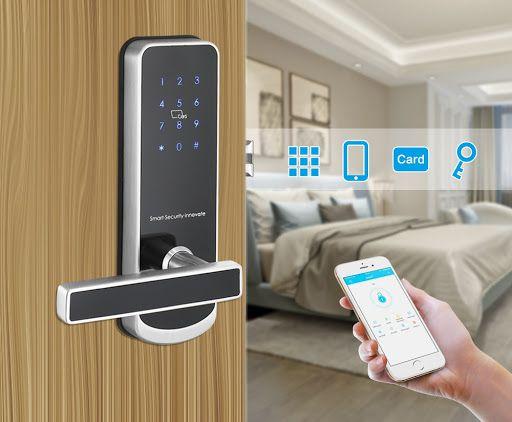 Ưu điểm và cơ chế mở khóa cửa bằng điện thoại mới nhất 1