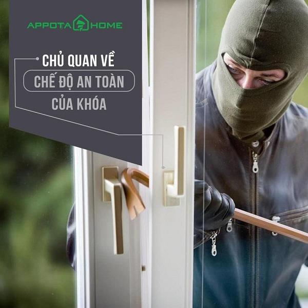 Có nên lắp đặt khóa vân tay cho chung cư không? Tại sao? (1)