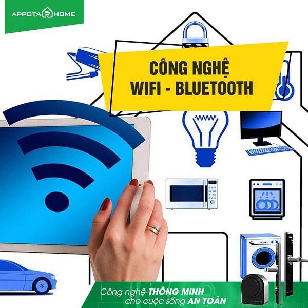Khóa cửa bluetooth & khóa cửa kết nối wifi giống và khác nhau thế nào? (3)