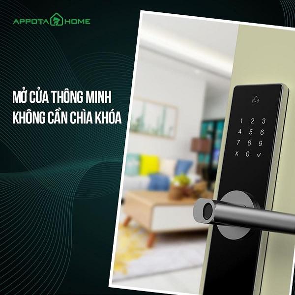 Khóa cửa kết nối wifi là gì? Khóa cửa wifi có ưu điểm gì nổi bật? (1)