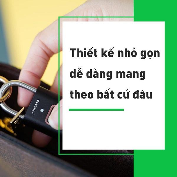 Tất tần tật về khóa vân tay đa năng AM1, ổ khóa mini thông minh (1)