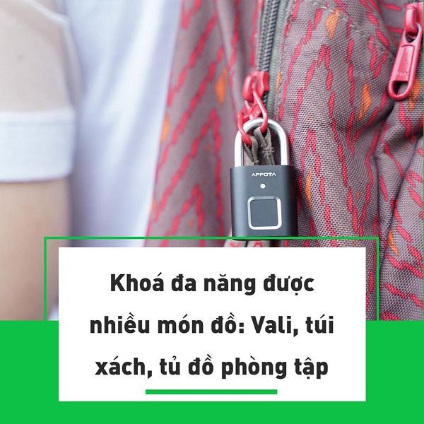 Tất tần tật về khóa vân tay đa năng AM1, ổ khóa mini thông minh (2)