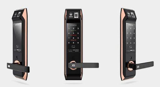 Tổng hợp các loại khóa vân tay giá rẻ cho cửa gỗ và cửa sắt 3