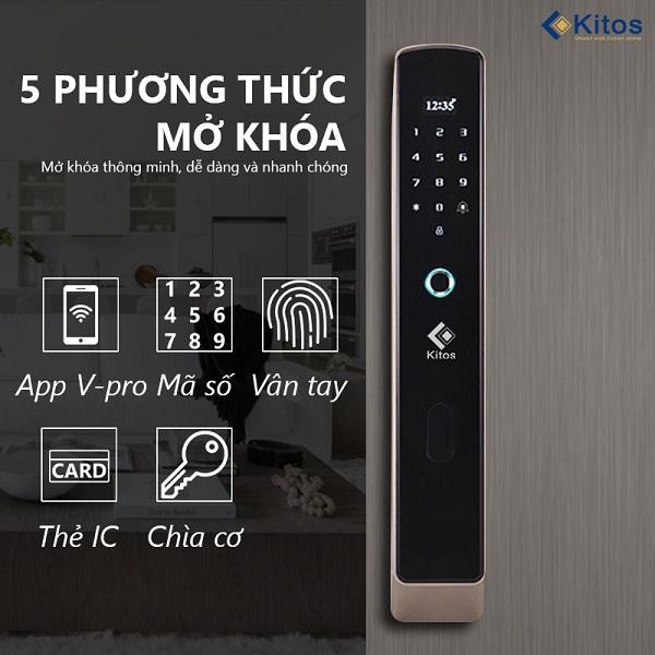 Top 3 khóa cửa thông minh kết nối bluetooth tốt nhất của hãng Kitos (1)