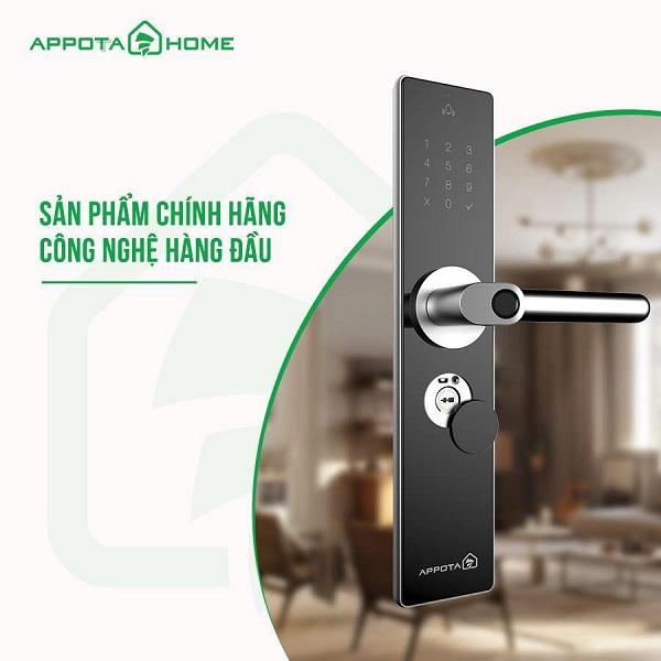 Khóa cửa thông minh AppotaHome AN1 có gì nổi bật? (1)