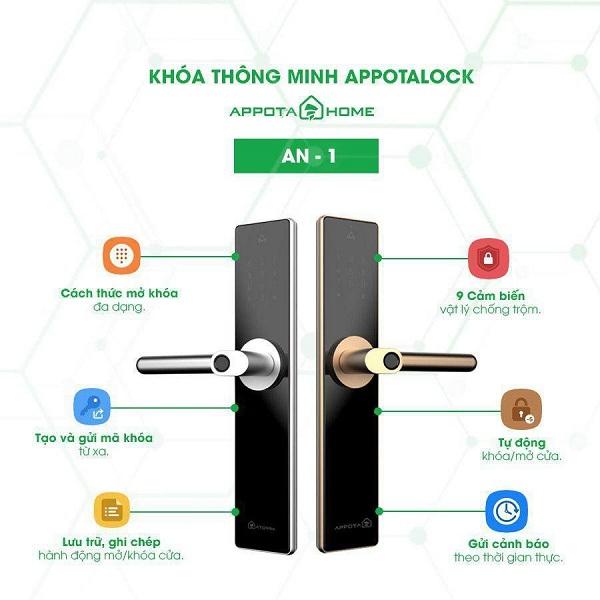 Khóa cửa thông minh AppotaHome AN1 có gì nổi bật? (6)