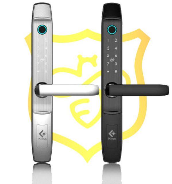 Tổng hợp các loại khóa cửa cổng thông minh cho cửa sắt phổ biến 2