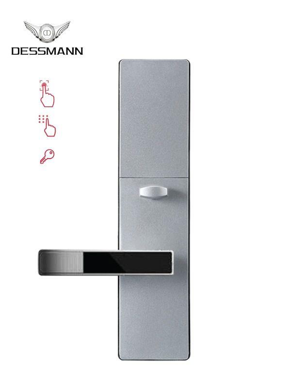 Tổng hợp các loại khóa cửa cổng thông minh cho cửa sắt phổ biến 3