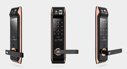 Tổng hợp các loại khóa cửa cổng thông minh cho cửa sắt phổ biến 5