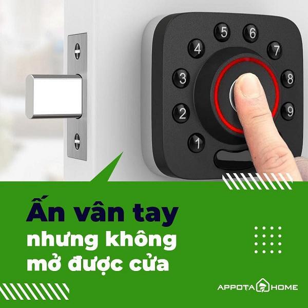 4 lỗi thường gặp khi sử dụng khóa cửa vân tay thông minh (1)