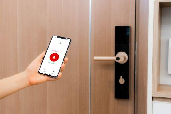 Cơ chế hoạt động của khóa cửa mở từ xa qua Wifi công nghệ 4.0 2