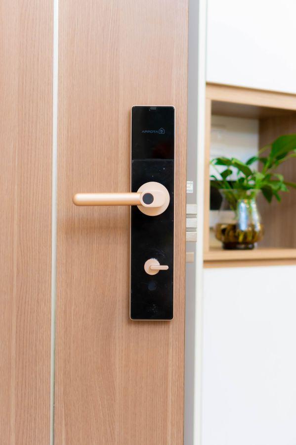 Hướng dẫn cách chọn mua khóa vân tay cho căn hộ chung cư 1