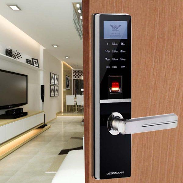 Khóa cửa cảm ứng có an toàn không? Vì sao chọn khóa cửa cảm ứng? 2