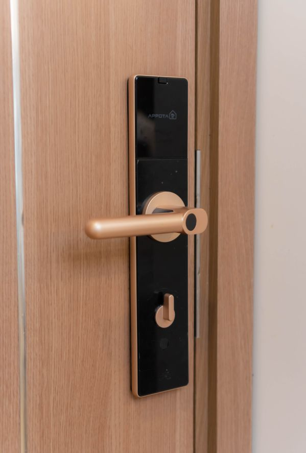 Tổng hợp ổ khóa vân tay cho cửa gỗ và cửa kính tốt nhất 2020 3
