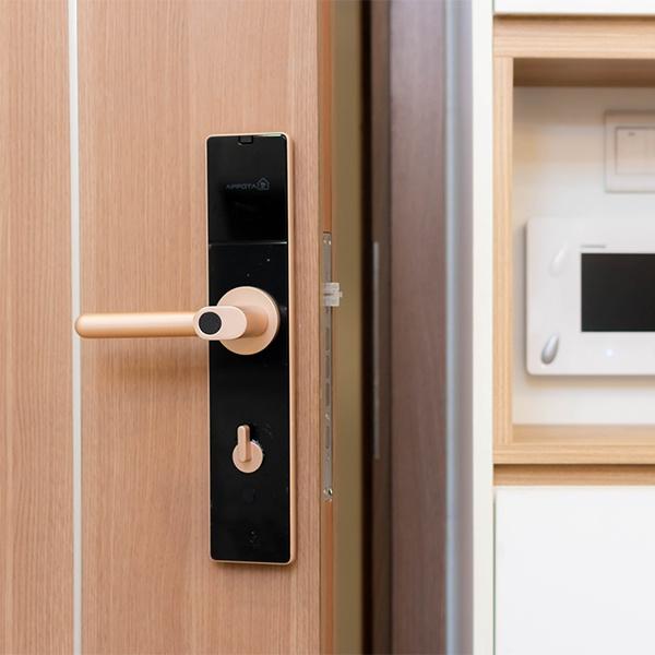 Chọn khóa cửa vân tay cho căn hộ chung cư cần quan tâm những gì? 1