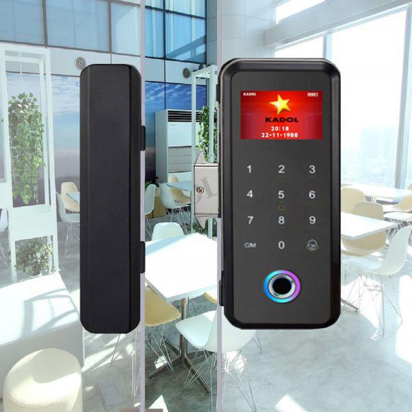 Các mẫu khóa vân tay cửa kính Remote điều khiển từ xa giá tầm 5 triệu 1