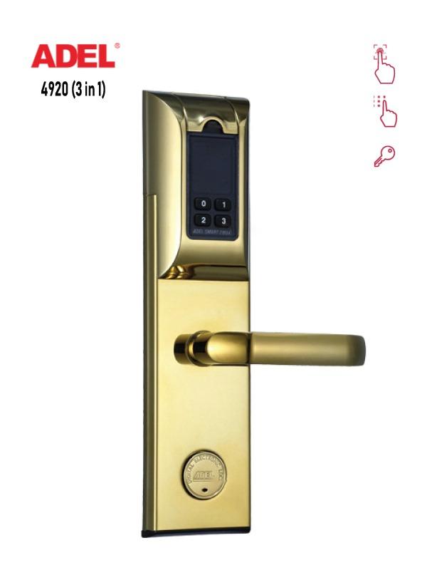 Ưu điểm của khóa vân tay Adel 4920 và hướng dẫn cách sử dụng  1
