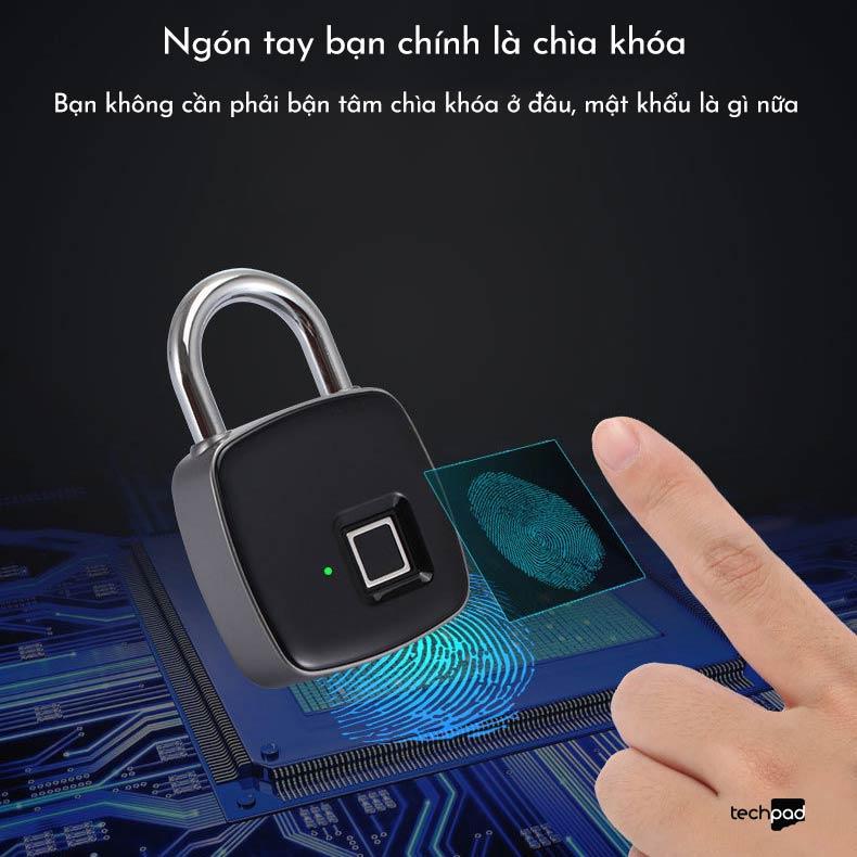 Tại sao chúng ta nên lựa chọn khóa thông minh vân tay Padlock P3 2