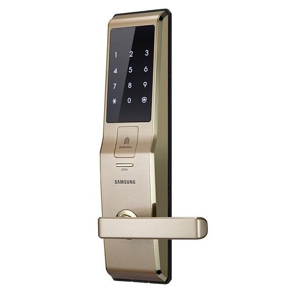 Các mẫu khóa cửa thông minh với bàn phím màn hình cảm ứng có đèn nền (1)