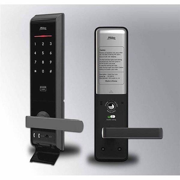 Các mẫu khóa cửa thông minh với bàn phím màn hình cảm ứng có đèn nền (3)