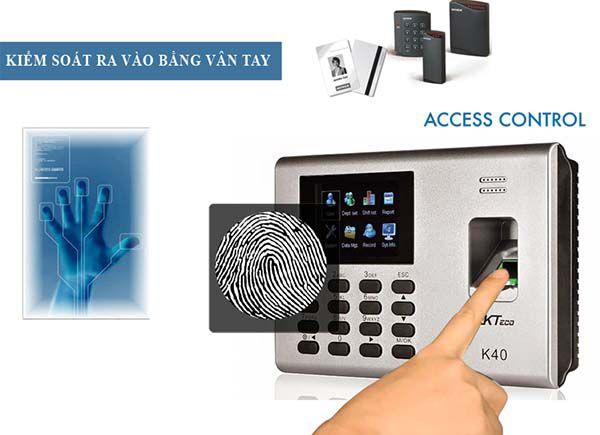 Tìm hiểu về hệ thống kiểm soát cửa bằng vân tay và thẻ từ 2