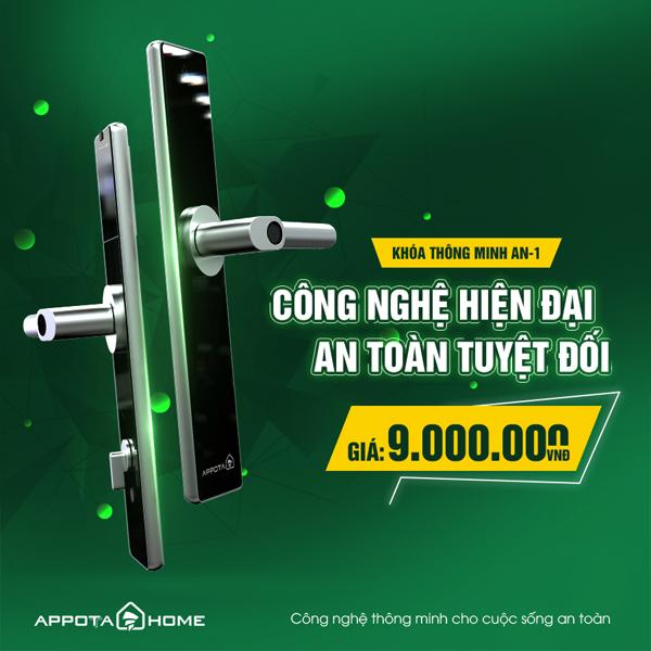Giá khóa thông minh AN-1 đang là 9.000.000 đ
